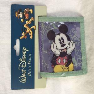 Mickey Mouse Girl's Bi Fold Wallet
